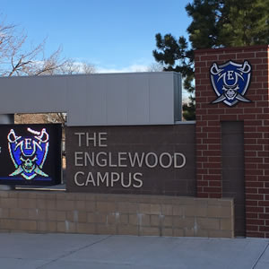 Arapahoe Sign Arts | Sign for Englewood Campus